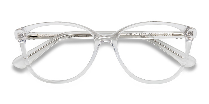 clearwhite hepburn fashion acetate eyeglasses