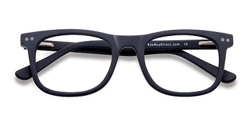 Matte Navy Montreal -  Fashion Acetate Eyeglasses