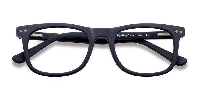 Matte Navy Montreal -  Geek Acetate Eyeglasses