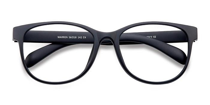 Matte Navy Warren -  Fashion Plastic Eyeglasses