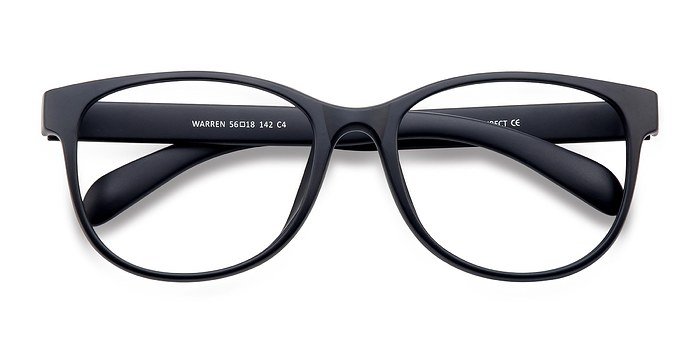Matte Navy Warren -  Fashion Plastic Eyeglasses