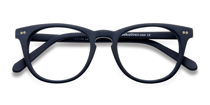 Matte Navy Providence -  Fashion Acetate Eyeglasses