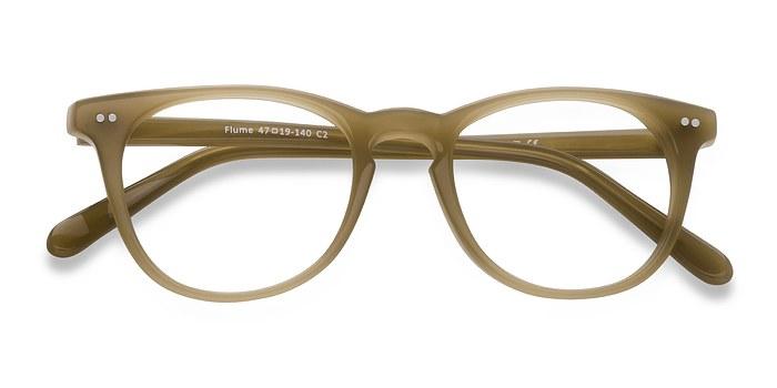 Taupe Flume -  Fashion Acetate Eyeglasses