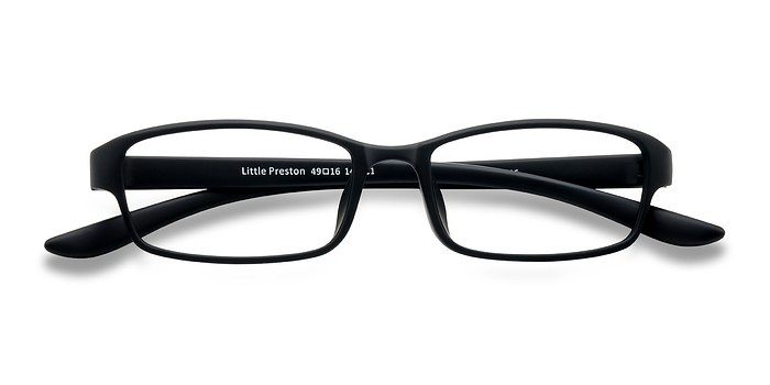 Black Little Preston -  Plastic Eyeglasses