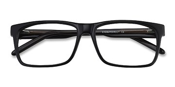 Black Sydney -  Fashion Acetate Eyeglasses