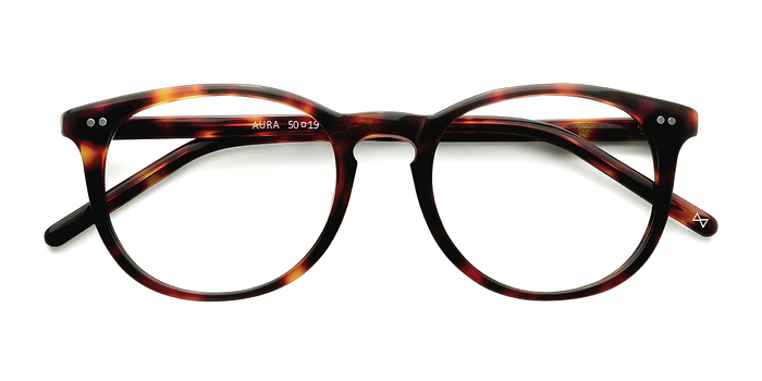 Warm Tortoise Aura -  Designer Acetate Eyeglasses