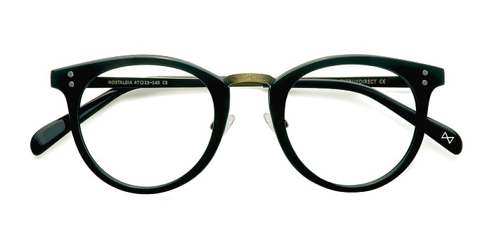 Charcoal Nostalgia -  Designer Acetate Eyeglasses