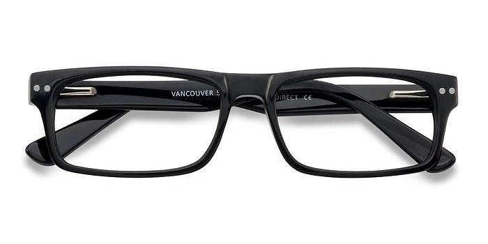 Black Vancouver -  Acetate Eyeglasses