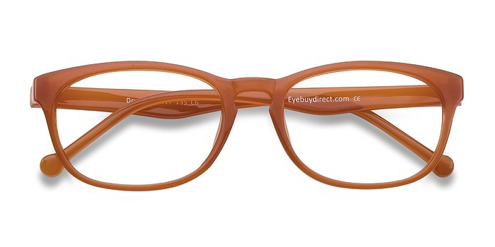 Orange Drums -  Colorful Plastic Eyeglasses