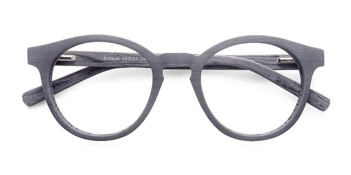Gray Breeze -  Colorful Wood Texture Eyeglasses