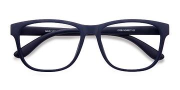 Matte Navy Milo -  Fashion Plastic Eyeglasses