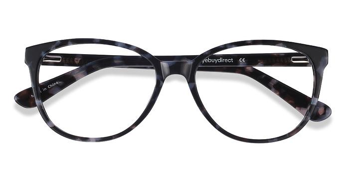 Gray Floral Hepburn -  Fashion Acetate Eyeglasses