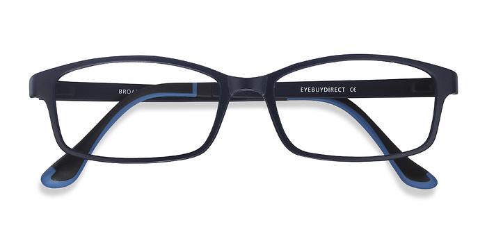 Navy Broad -  Plastic Eyeglasses