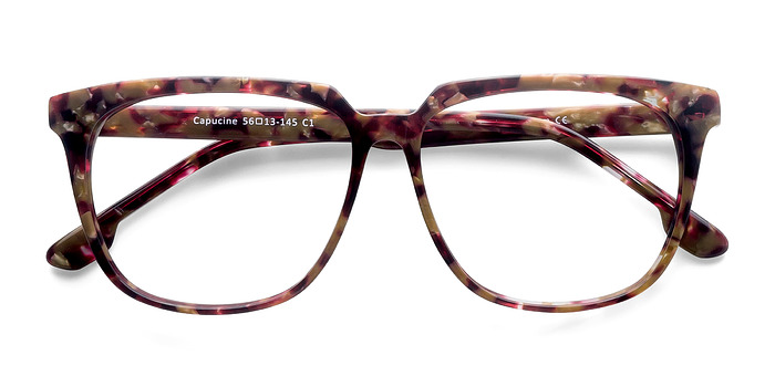Red Floral Capucine -  Fashion Acetate Eyeglasses