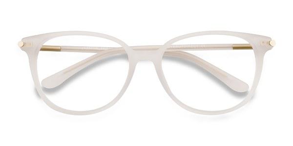 Jasmine   White Acetate Eyeglasses   EyeBuyDirect