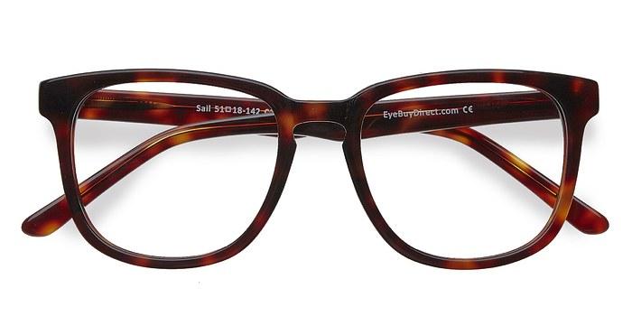 Tortoise Sail -  Acetate Eyeglasses