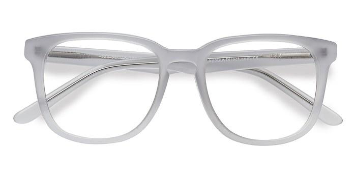 White Clear Sail -  Acetate Eyeglasses