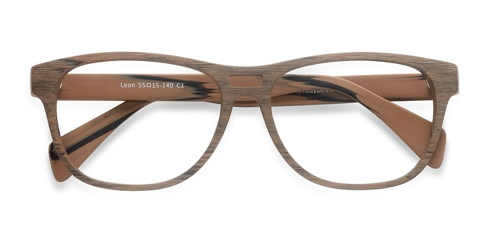Matte Brown Leon -  Eyeglasses