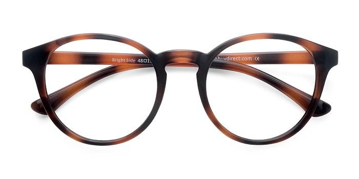 Brown Tortoise Bright Side -  Classic Plastic Eyeglasses
