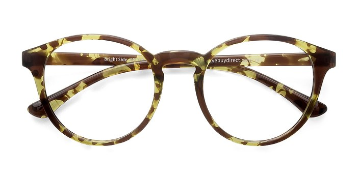 Tortoise Bright Side -  Classic Plastic Eyeglasses