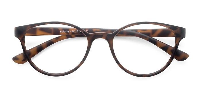 Matte Leopard Palette -  Classic Plastic Eyeglasses