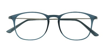 Matte Blue Little Bit -  Plastic Eyeglasses