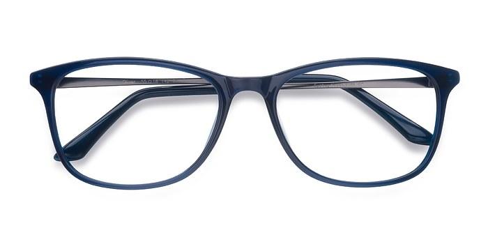 Navy Oliver -  Plastic Eyeglasses
