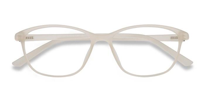 Matte Beige District -  Plastic Eyeglasses
