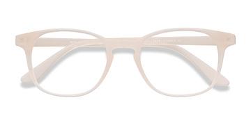 Matte White Monday -  Plastic Eyeglasses
