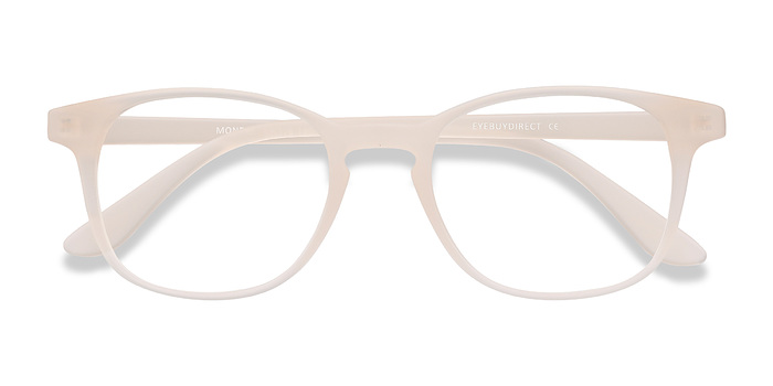 Matte White Monday -  Plastique Lunettes de Vue
