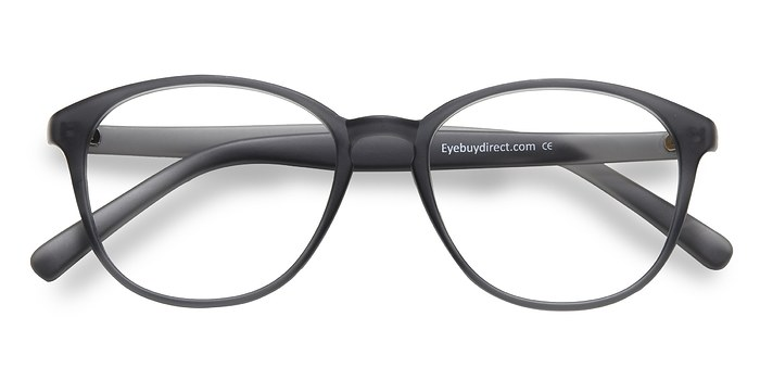 Matte Gray Watermelon -  Fashion Plastic Eyeglasses
