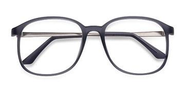 Matte Gray Ithaca -  Plastic Eyeglasses