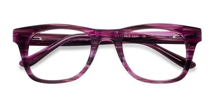 Purple Alisson -  Acetate Eyeglasses