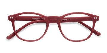 Red Little Crush -  Colorful Plastic Eyeglasses