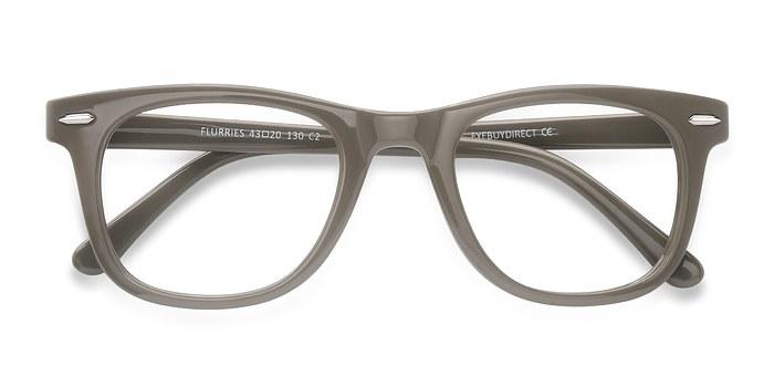 Green Flurries -  Plastic Eyeglasses