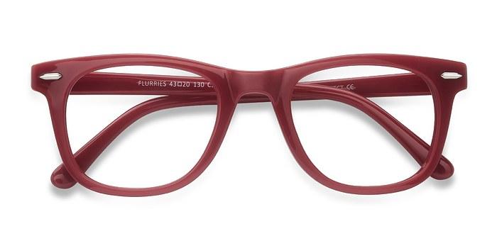 Pink Flurries -  Plastic Eyeglasses