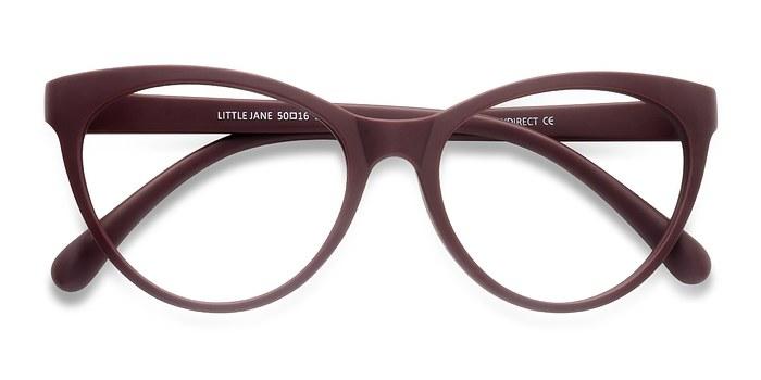 Red Little Jane -  Plastic Eyeglasses