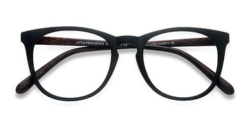 Matte Black Little Providence -  Plastic Eyeglasses