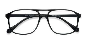 Black Little Oblivion -  Plastic Eyeglasses