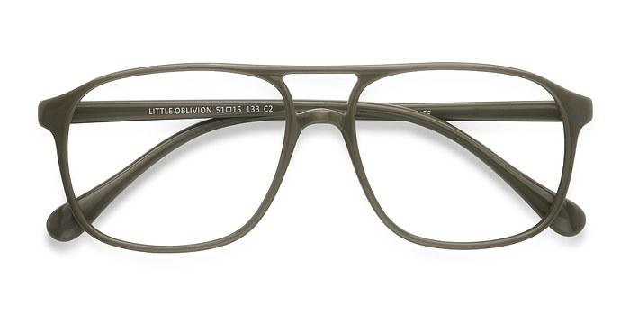 Green Little Oblivion -  Plastic Eyeglasses