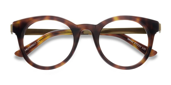 Brown Tortoise Venus -  Acetate Eyeglasses