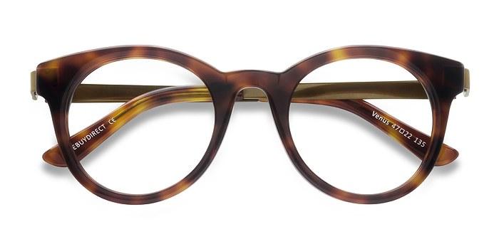 Brown Tortoise Venus -  Vintage Acetate Eyeglasses