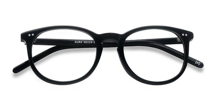 Black Aura -  Designer Acetate Eyeglasses
