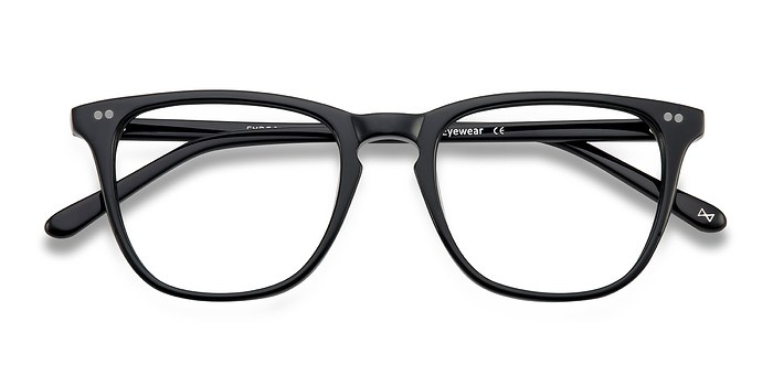 Jet Black Exposure -  Acetate Eyeglasses