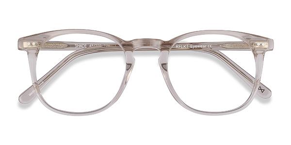 Shade Champagne Women Acetate Eyeglasses EyeBuyDirect