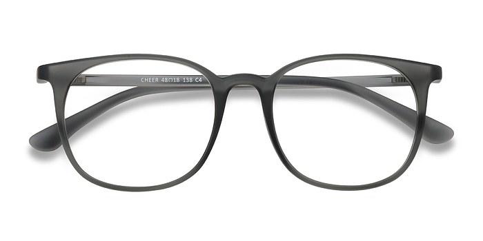Matte Ash Cheer -  Plastic Eyeglasses