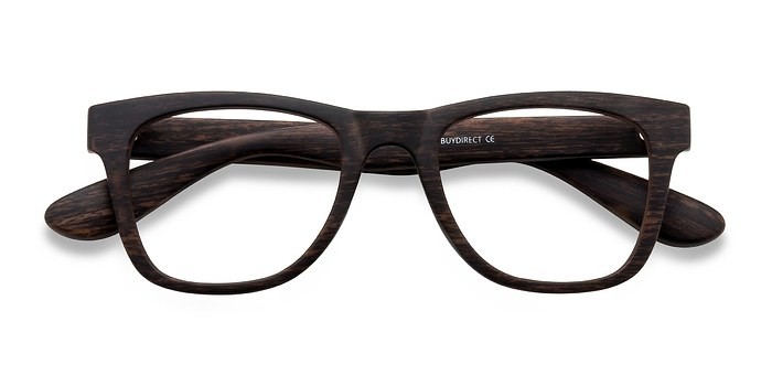 Brown Striped Project -  Plastique Lunettes de Vue