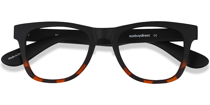 Black Tortoise Project -  Plastic Eyeglasses