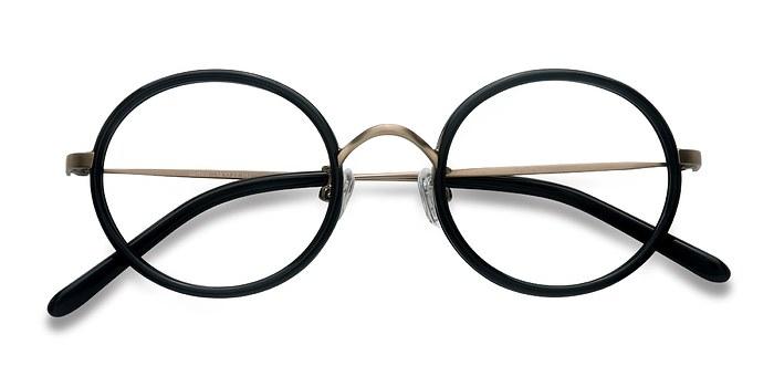 Black Gemini -  Designer Acetate Eyeglasses
