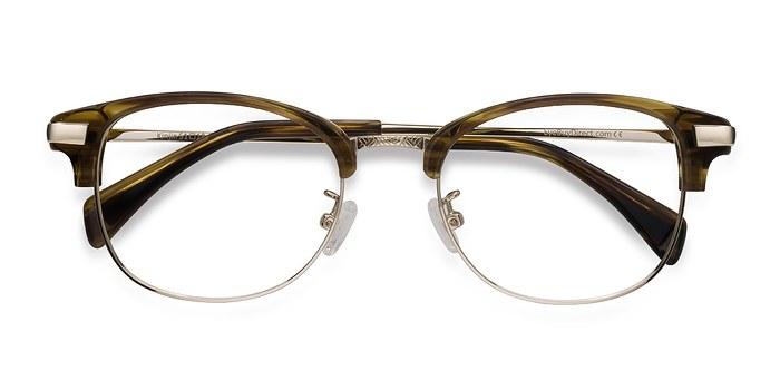Brown Kinjin -  Designer Acetate Eyeglasses